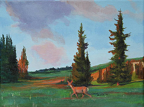 Scapegoat Summer Sunset by Pam Little