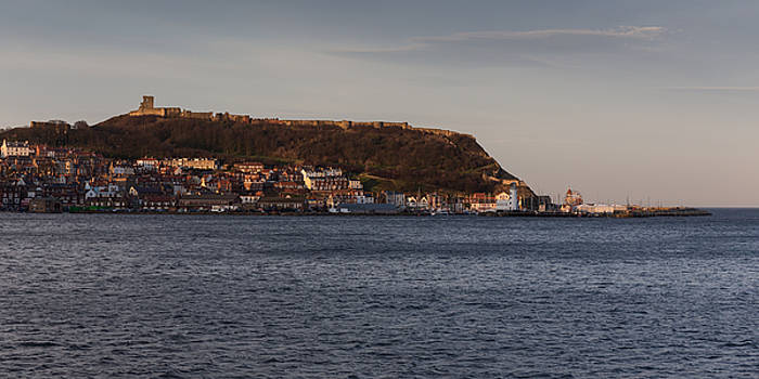 Scarborough castle by Paul Indigo