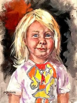 J P Childress - Scarlet, the Texan