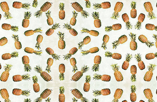 Scattered Pineapples by Angelina Hills