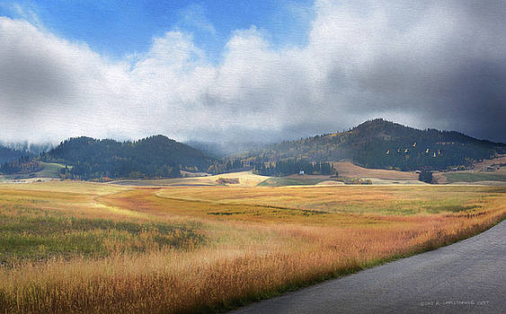 Scattered Showers Idaho Farms by R christopher Vest