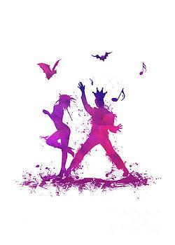 Justyna Jaszke JBJart - Scene 2 purple dancer
