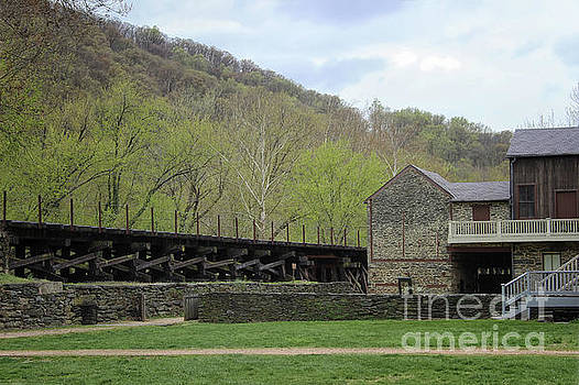 Scene at Harpers Ferry by Karen Adams
