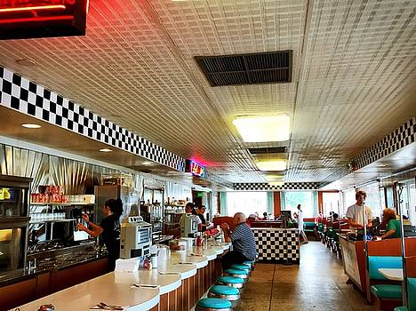 Scenes from a Diner by Chris Montcalmo