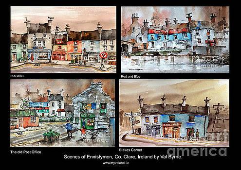 Val Byrne - Scenes of Ennistymon 4