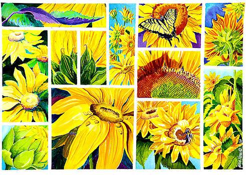 Scenes of Sunflowers by Janis Grau