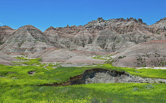 Scenic Badlands by John M Bailey
