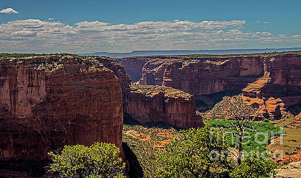 Scenic Canyon De Chelly by Stephen Whalen