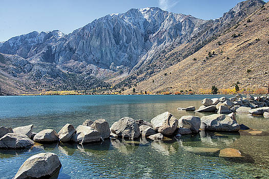 Scenic Convict Lake - Sierra Nevadas - California by Bruce Friedman