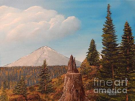 Scenic from Bend of the River by William McCutcheon