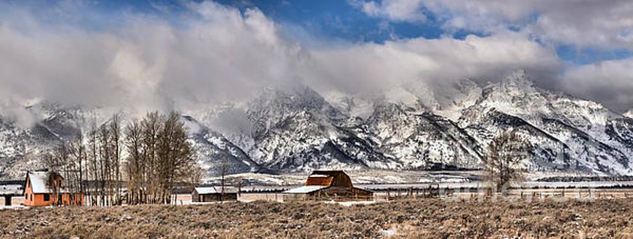 Scenic Mormon Homestead by Adam Jewell