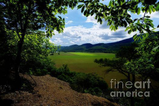 Dan Friend - Scenic of farmland along the South branch of the Potomac