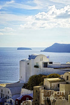 Scenic Oia by HD Connelly