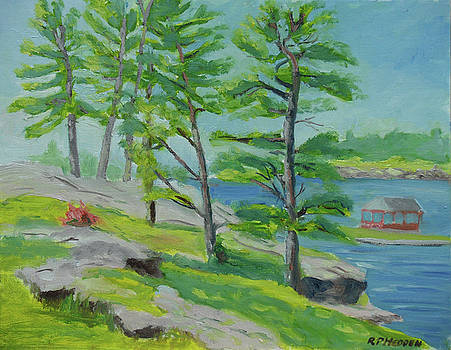 Scenic Park, Alexandria Bay NY by Robert P Hedden