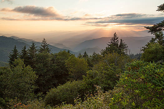 Scenic Smoky Mountains by Doug McPherson
