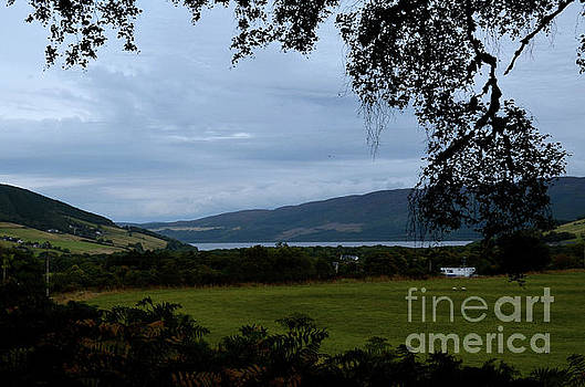 Scenic View of Loch Ness and the Highlands in Scotland by DejaVu Designs
