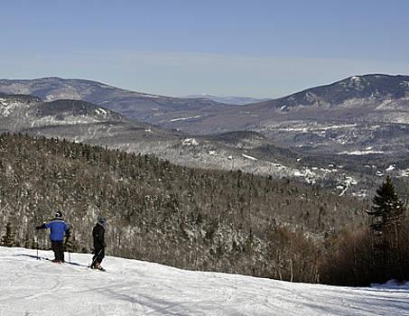 Scenic Vista Skiiers by Jennifer Ferrier