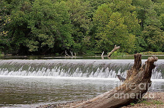 Scenic waterfall by Diane Friend