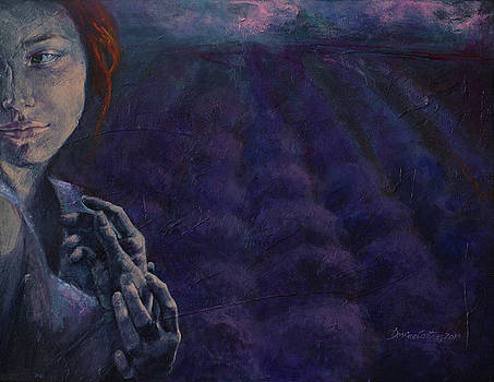 Scent of Dusk in Provence by Dorina Costras
