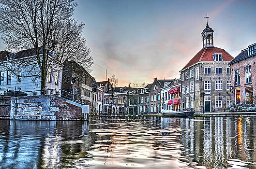Schiedam Sunset by Frans Blok