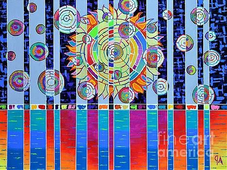 Schizophrenic Visions by Jeremy Aiyadurai