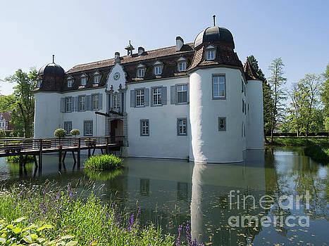 Schloss Bottmingen is a medieval castle near Basel Switzerland by Louise Heusinkveld