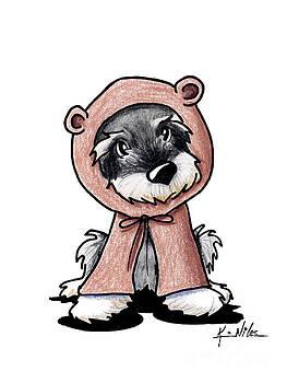 Schnauzy Bear by Kim Niles