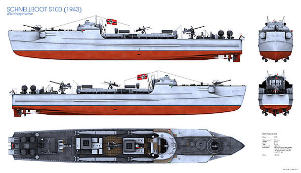 Schnellboot S100 by Carlo Cestra