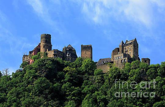 Schoenburg Castle Oberwesel Germany by Louise Heusinkveld
