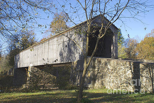 Scholfield Ford Covered Bridge by Lori Amway