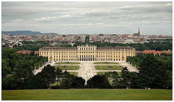 Schonbrunn Palace by Eric  Bjerke Sr