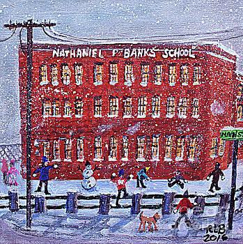 School Banks Square by Rita Brown