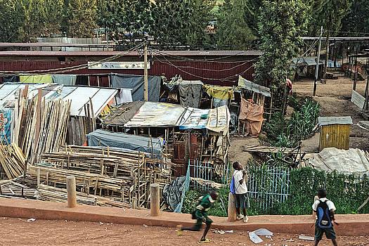 Chris Honeyman - Schoolboys after school, Kigali 2015