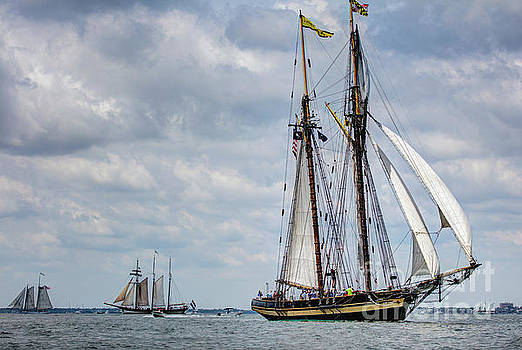 Schooner Pride of Baltimore by Dustin K Ryan