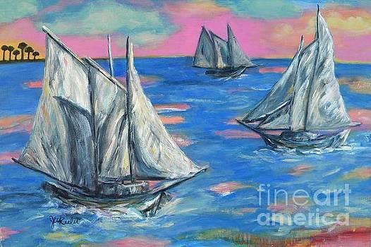 Schooner Seas by JoAnn Wheeler