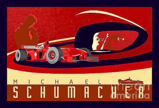 Schumacher  by Sassan Filsoof