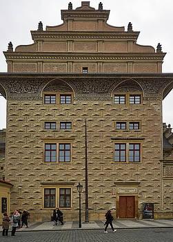 Schwarzenbersky Palac. Prague Castle. Prague spring 2017 by Jouko Lehto