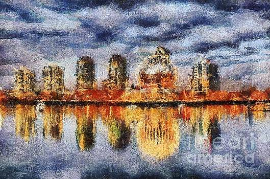 Rod Wiens - Science World Painted