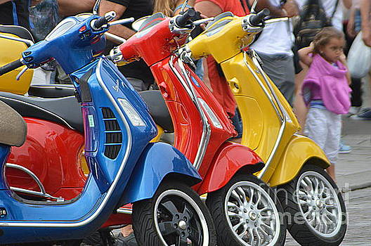 Scooters by Andy Thompson