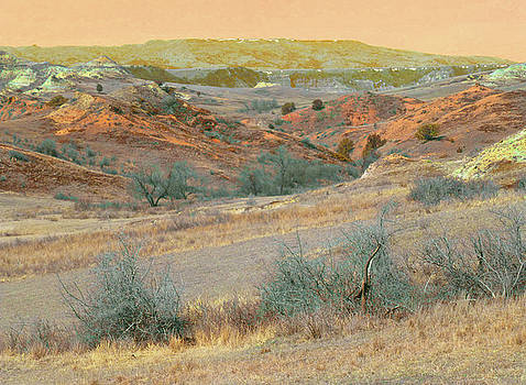 Scoria Hills of West Dakota by Cris Fulton