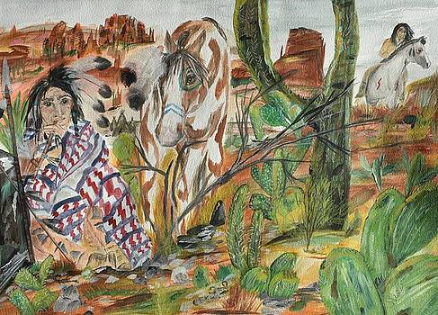 Scorpian Ridge by Susan Snow Voidets