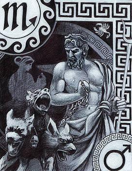 Scorpio, Zodiac, Hades by Stephen Humphries