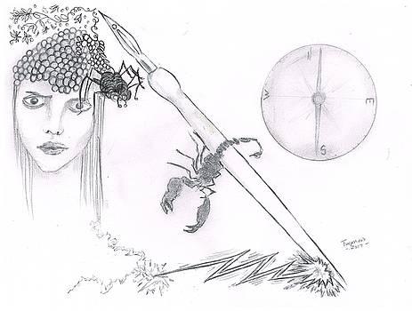 Scorpion Pen by Dan Twyman
