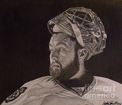Scott Darling Portrait by Melissa Goodrich