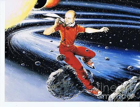 Scott Hamilton skates the stars by Bob George