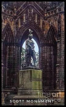Scott Monument Edinburgh 2 by Joan-Violet Stretch