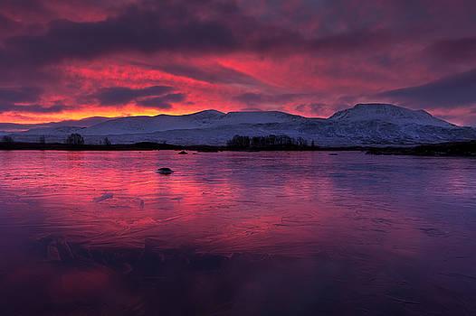Scottish highlands sunrise by David Smith