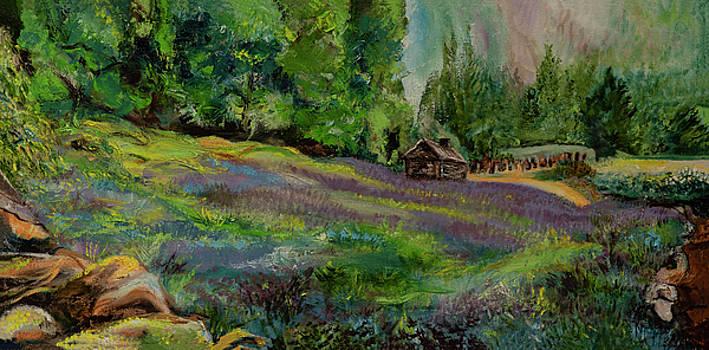 Scottish Landscape by Kathy Knopp