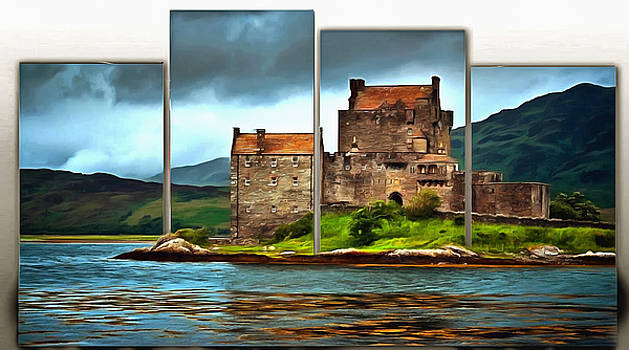 Scottish Moment on a Half Frame by Mario Carini