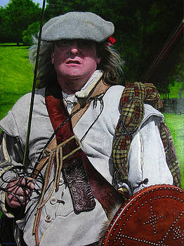 Harry Robertson - Scottish soldier of the Sealed Knot at the Ruthin Seige Re-enactment